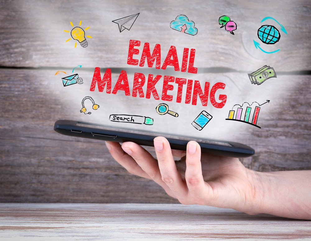Icona concettuale per email marketing