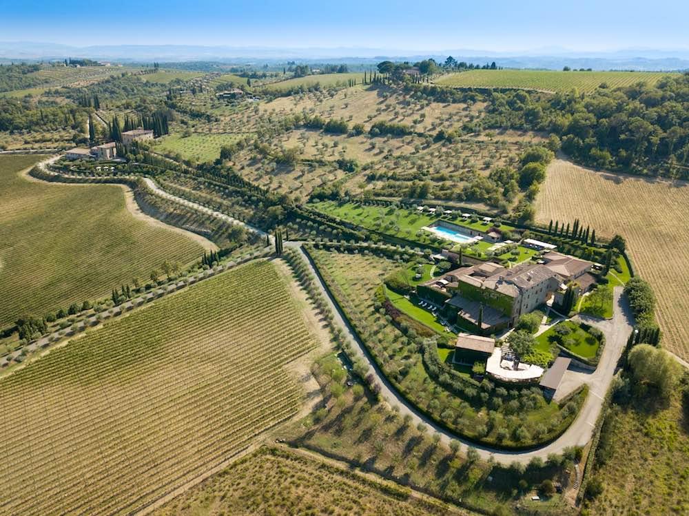 Hotel Le Fontanelle, charme resort in Toscana a Castelnuovo Berardenga