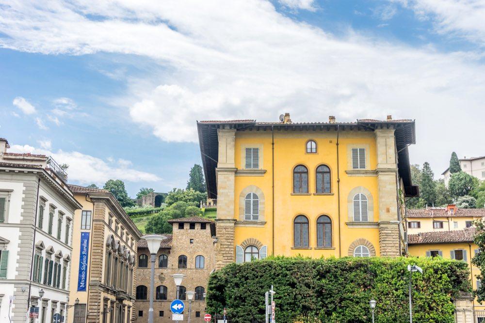 Museo Bardini a Firenze nel quartiere di San Niccolò