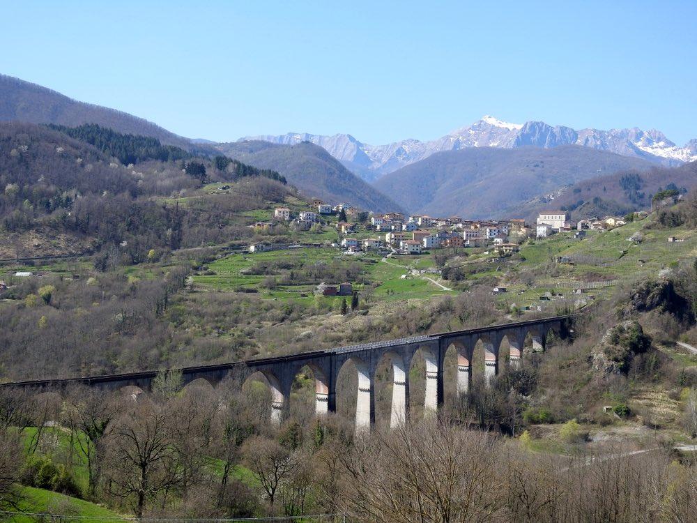 Il Ponte delle Villetta in Garfagnana