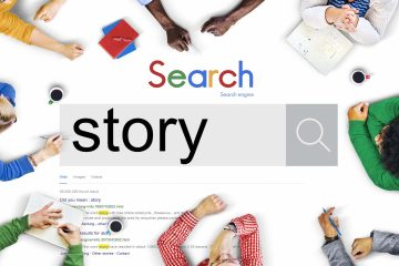 Scritta story su google