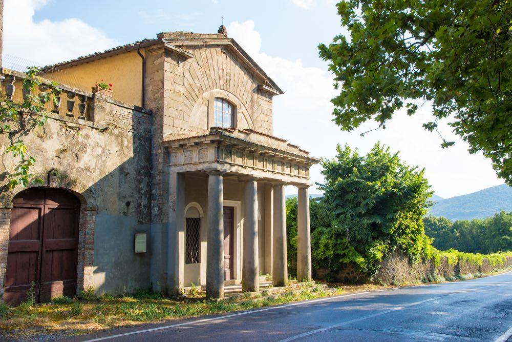 Cappella di Malignano nel territorio di Sovicille