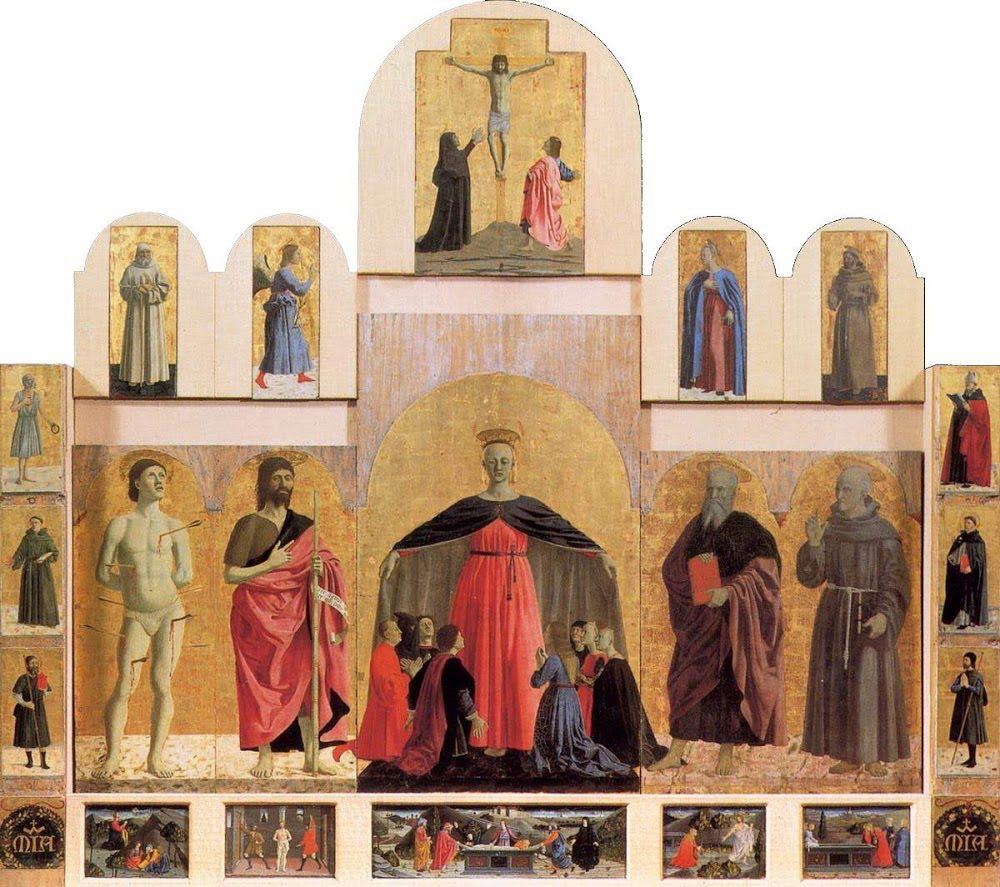 Il Polittico della Misericordia di Piero della Francesca