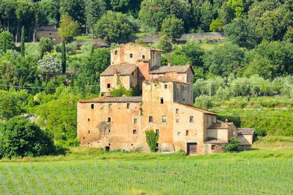 Il borgo medievale di Rosia a Sovicille