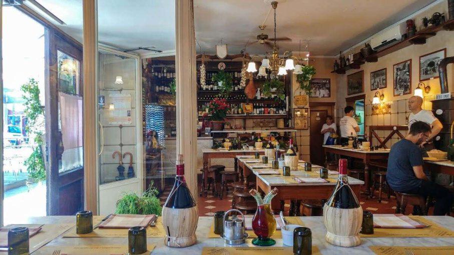Trattoria alla Vecchia Bettola a Firenze