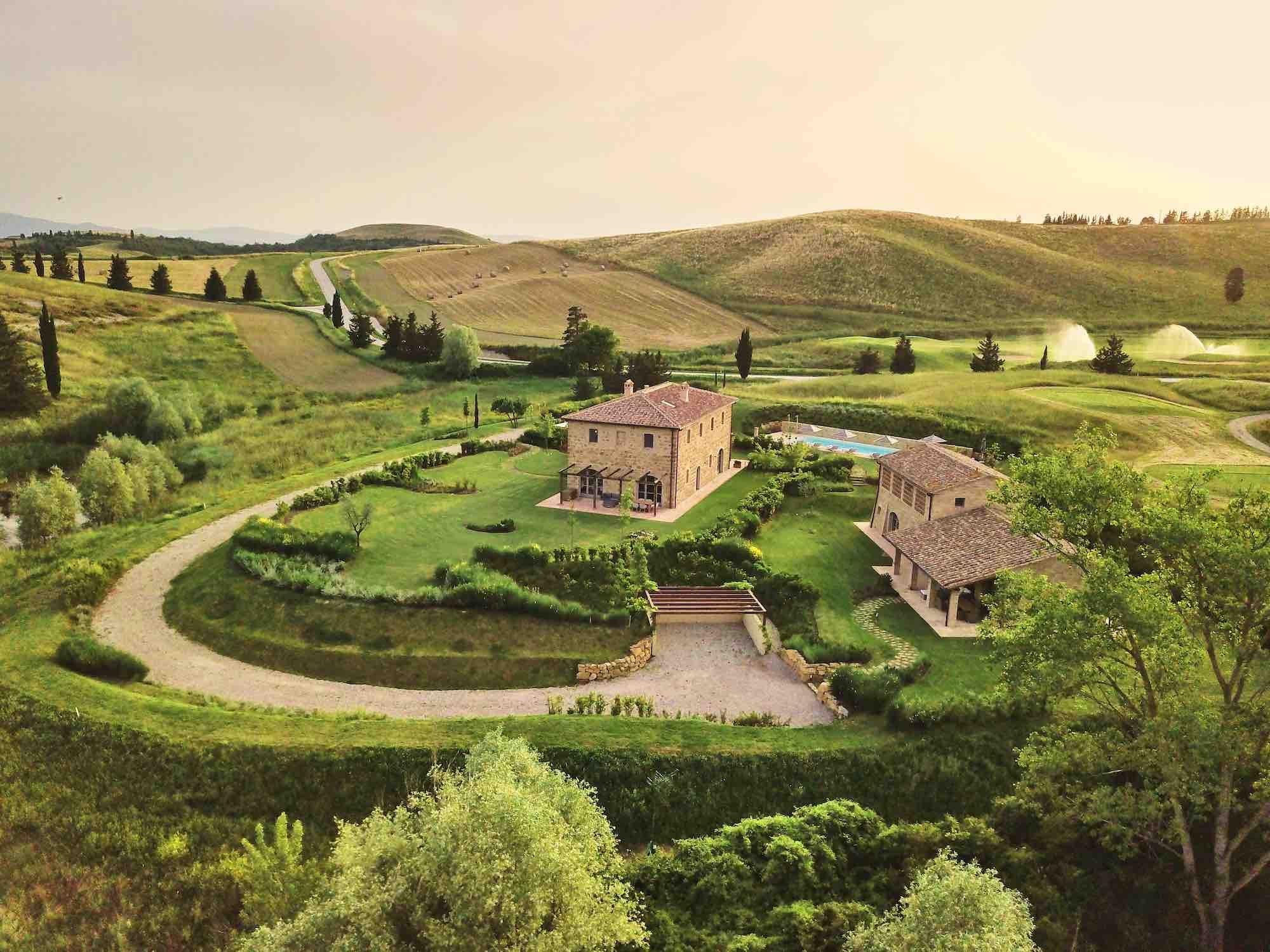 Golf Resort Castelfalfi, una dei luxury resort della Toscana