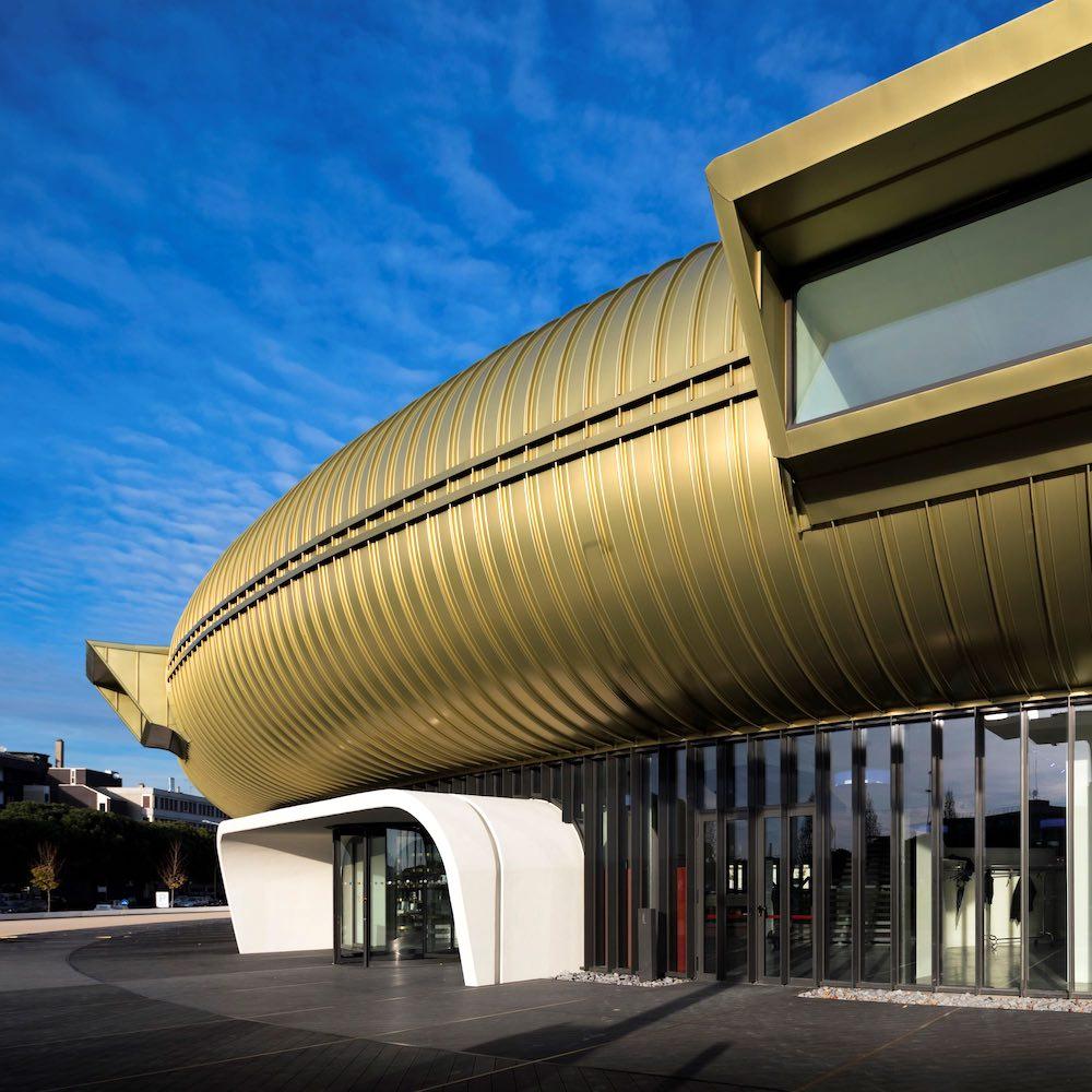 Ingresso del Centro per l'Arte Contemporanea di Prato