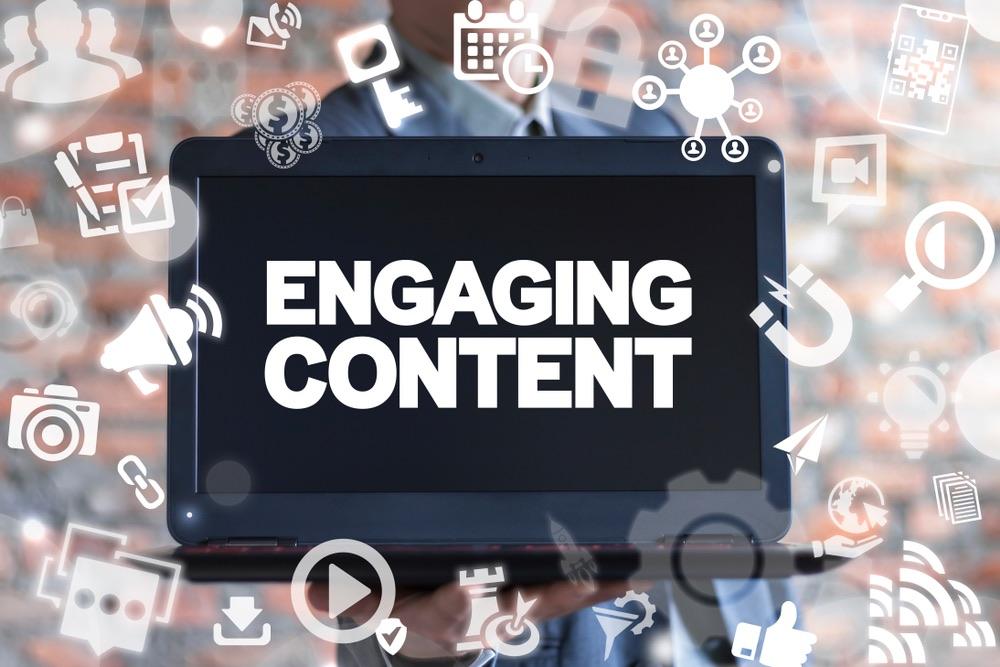 Rappresentazione grafica di un engaging content