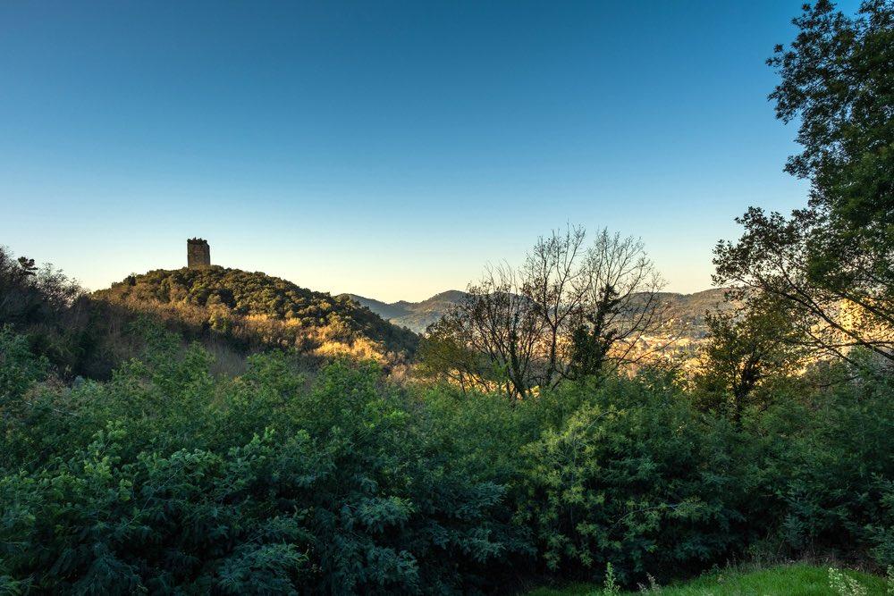 La fortezza di San Paolino a Ripafratta nel comune di San Giuliano Terme