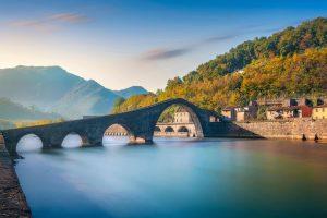 Ponte del Diavolo a Borgo a Mozzano in Garfagnana