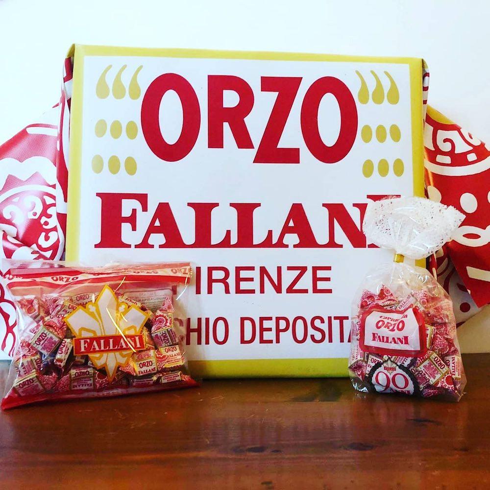 Le famose caramelle toscane all'orzo Fallani