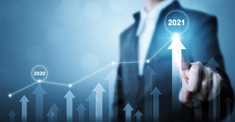 Crescita aziendale prevista per il 2021
