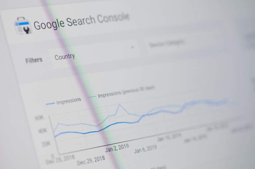 La dashboard di Google Search Console