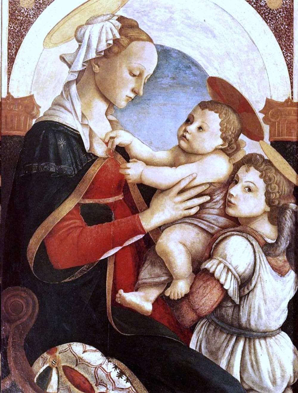 Madonna col Bambino degli Innocenti, opera di Sandro Botticelli