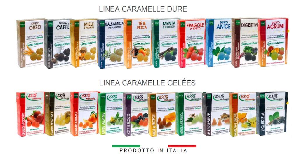 Le caramelle ai frutti di SIVA Group sono prodotte in Toscana