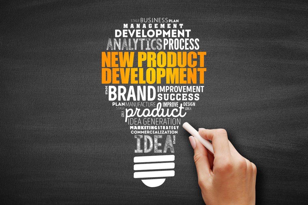 Rappresentazione grafica di nuova idea e sviluppo prodotto