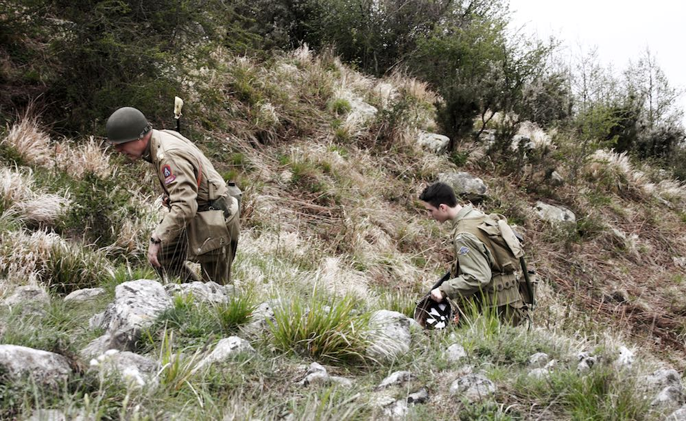 Rievocazione storica lungo la Linea Gotica in Toscana: due soldati americani