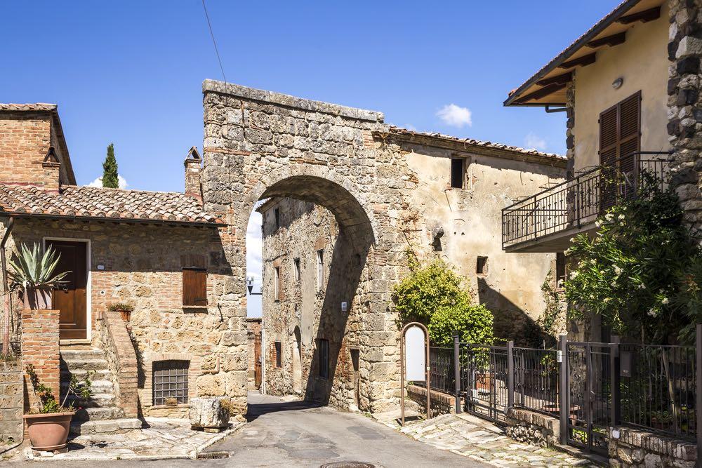 Arco in antica strada Chiusi