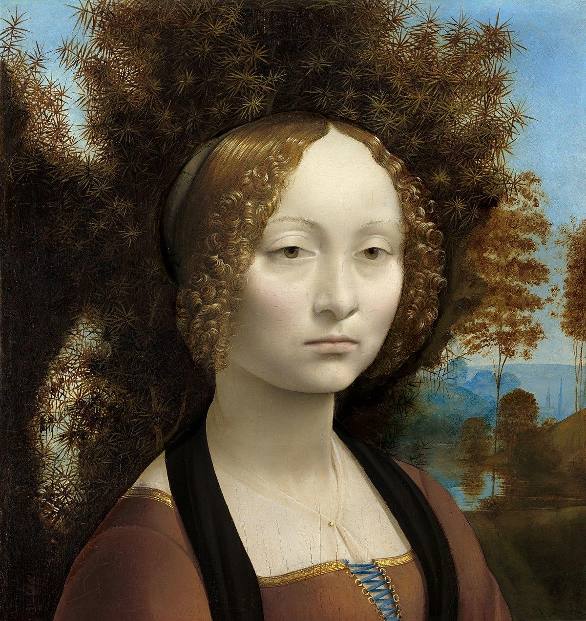 Il Ritratto di Ginevra de' Benci di Leonardo da Vinci