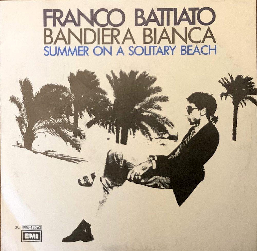 Copertina dell'album Bandiera Bianca di Franco Battiato