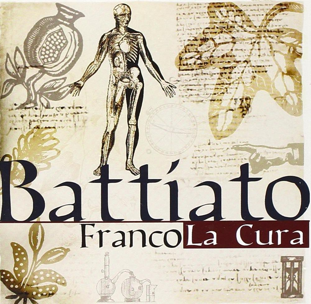 Copertina del singolo La Cura di Franco Battiato
