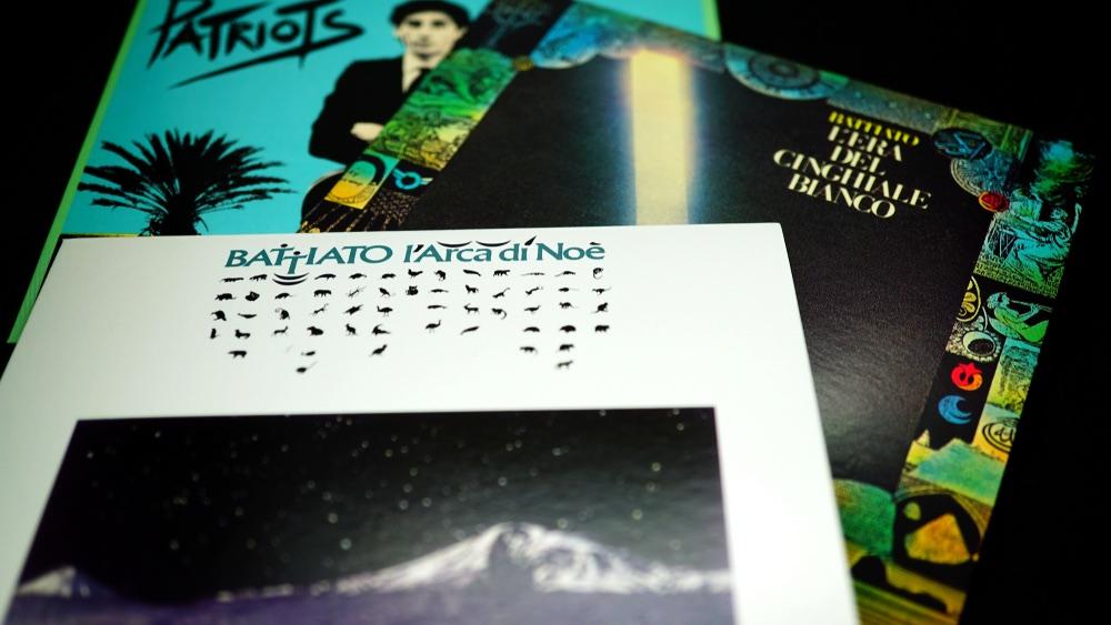 Copertine di album di Franco Battiato