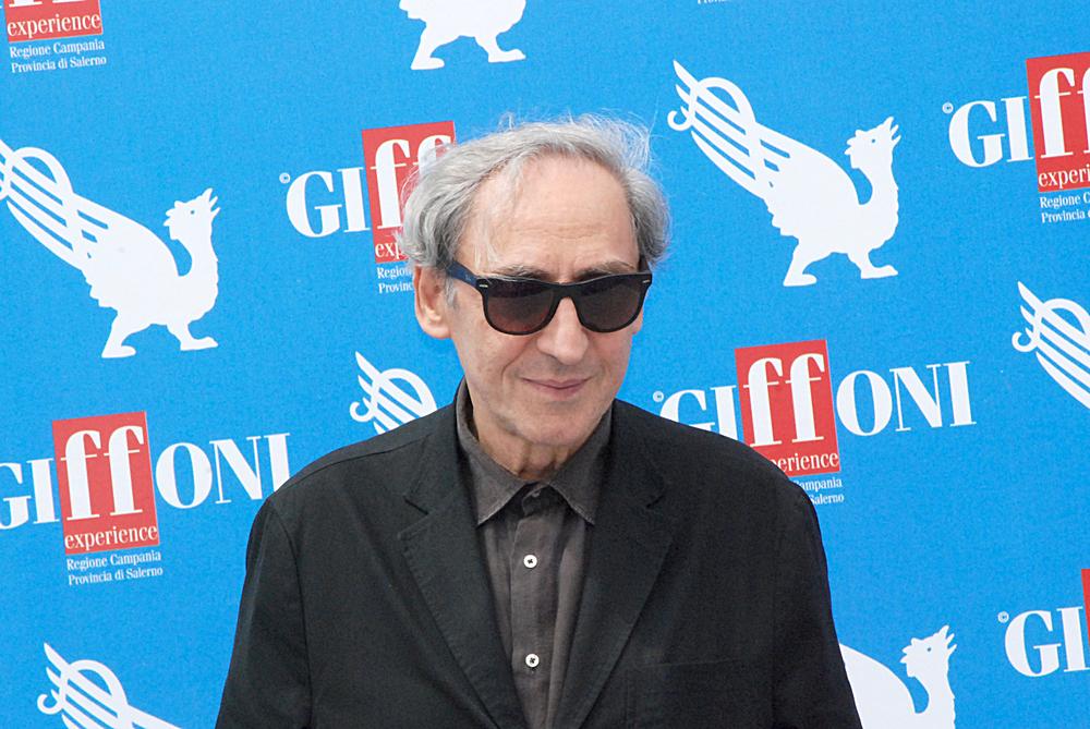 Franco Battiato al Giffoni Film Festival nel 2012