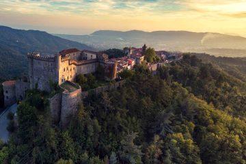 Il Castello Malaspina a Fosdinovo è uno dei più bei castelli in Toscana