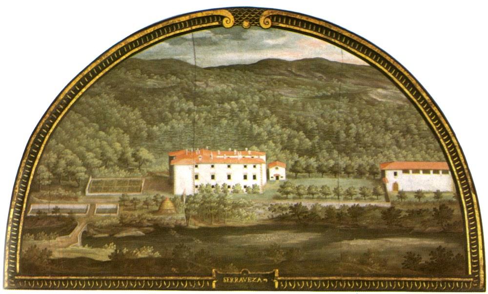 Il Palazzo mediceo di Seravezza nelle lunette dipinte da Giusto Utens