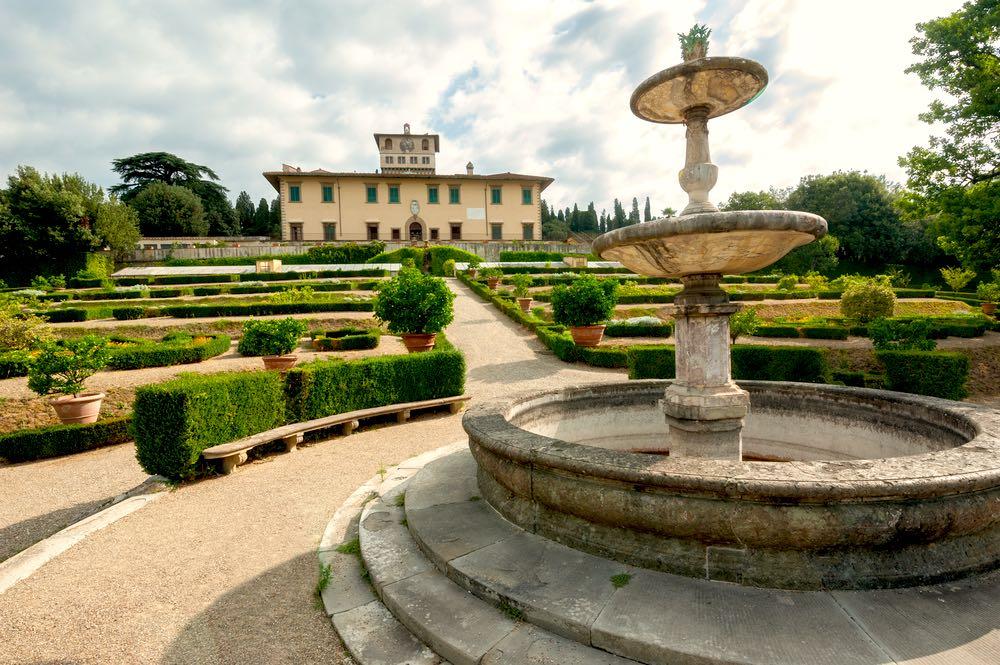 Villa La Petraia a Firenze è una delle ville medicee Patrimonio Unesco