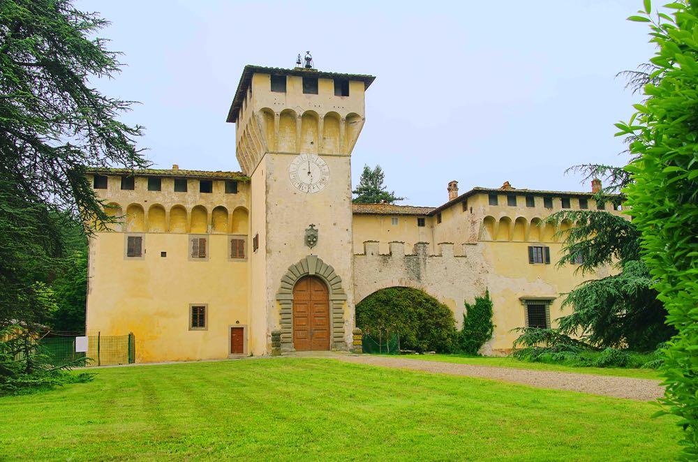 La villa medica di Cafaggiolo in provincia di Firenze, Patrimonio Unesco