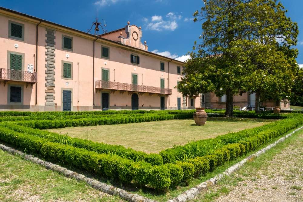 La Paggeria nel Parco di Villa Demidoff vicino a Firenze
