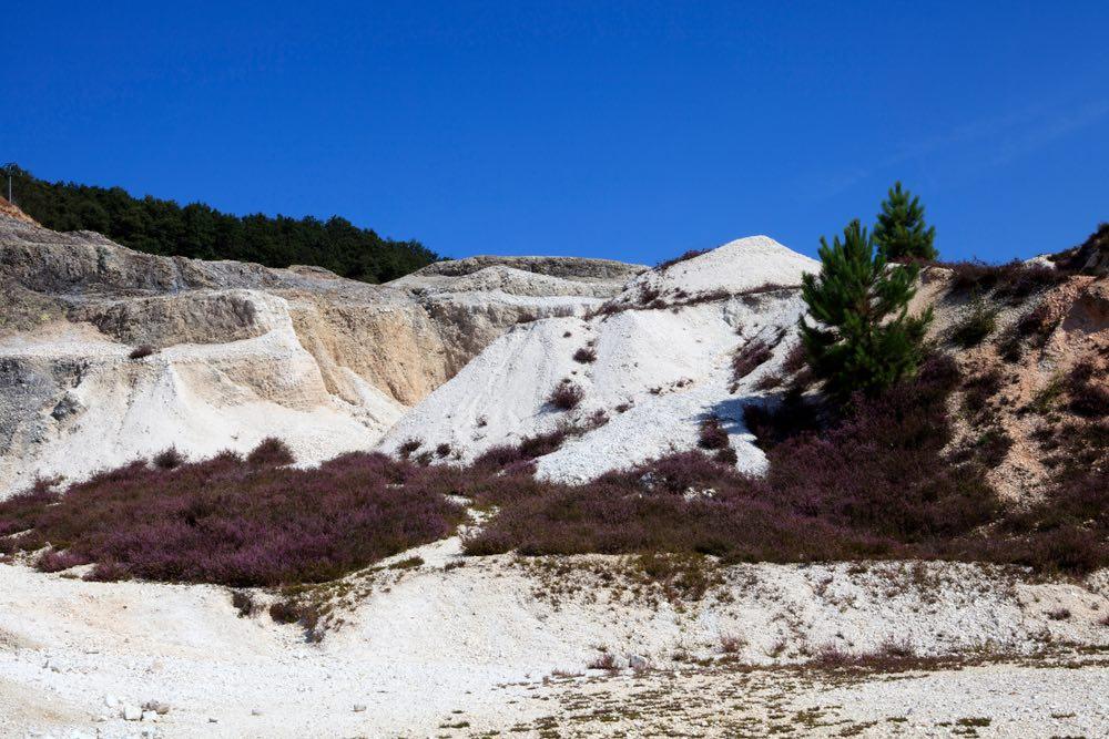 Formazioni nel Geomuseo delle Biancane in Toscana