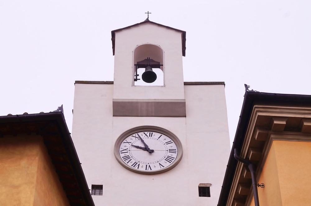 Torre dell'Orologio a Borgo San Lorenzo, borgo del Mugello vicino a Firenze