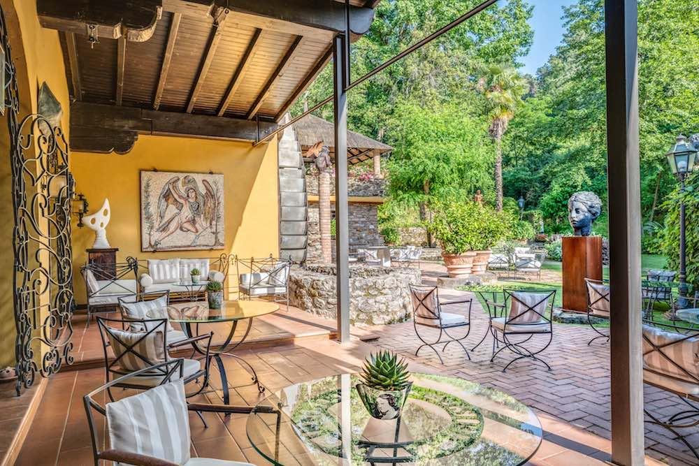 Il Bottaccio è un hotel di charme in Toscana a Montignoso (Massa)