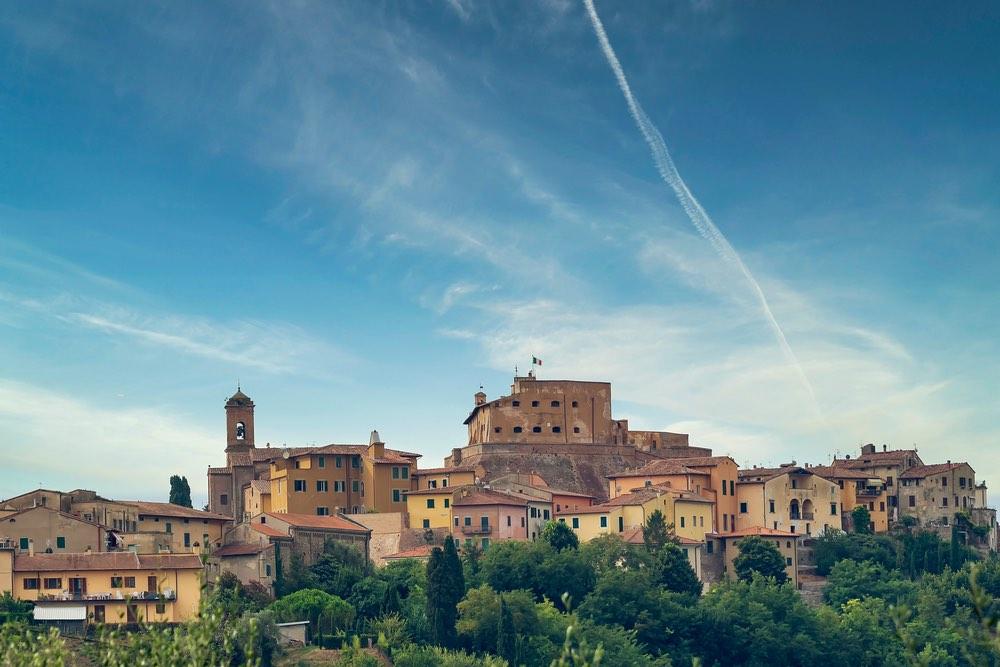 Il Castello di Lari in Valdera, Toscana
