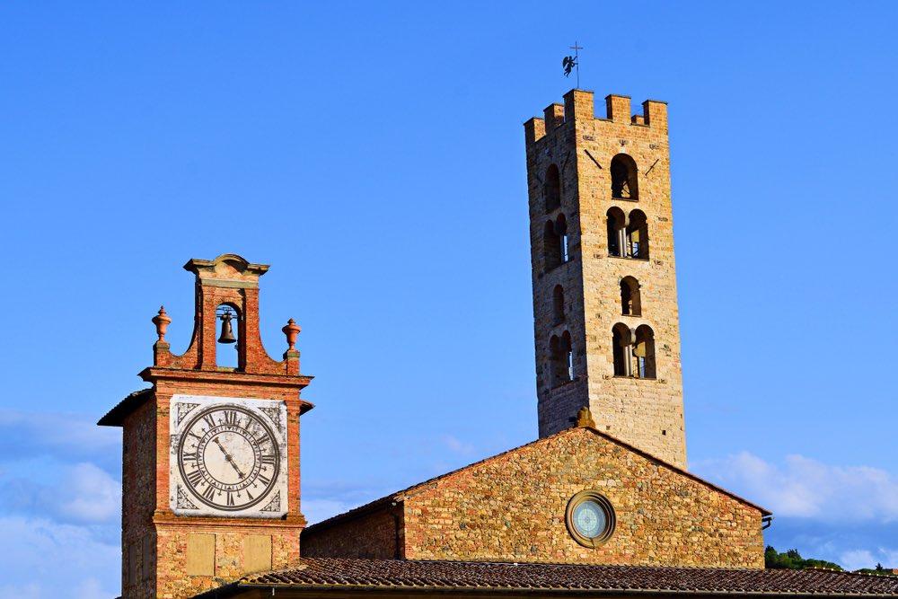 Santa Maria nel borgo toscano di Impruneta