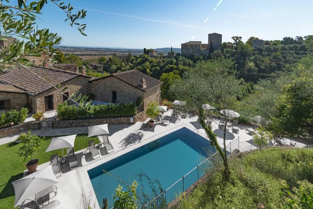 Le Macine di Stigliano è un hotel di charme in Toscana a Sovicille