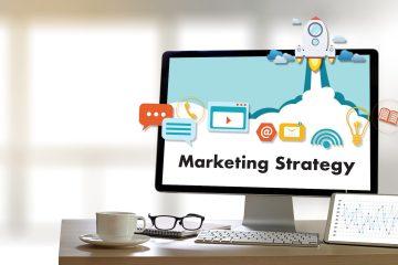 Illustrazione relativa al concetto di pianificazione e strategia di marketing