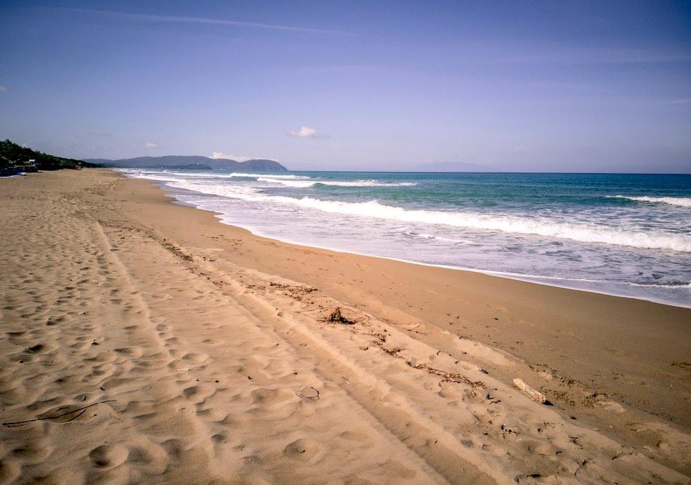 La spiaggia del Parco Naturale di Rimigliano tra San Vincenzo e Piombino