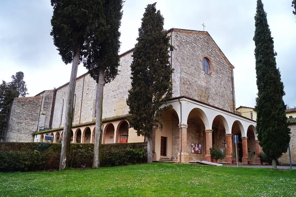 La chiesa di San Lucchese a Poggibonsi in Valdelsa, Toscana