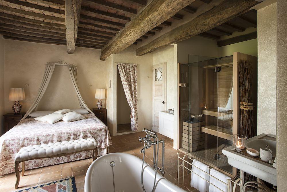 La Dimora Santa Margherita è un hotel di charme in Toscana a Castiglioncello Bandini Cinigiano
