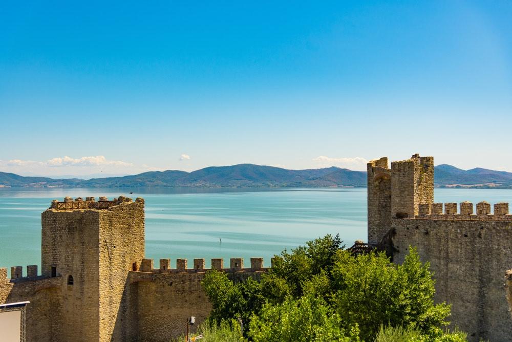Castiglione del Lago in Umbria è un bellissimo borgo affacciato sul Lago Trasimeno