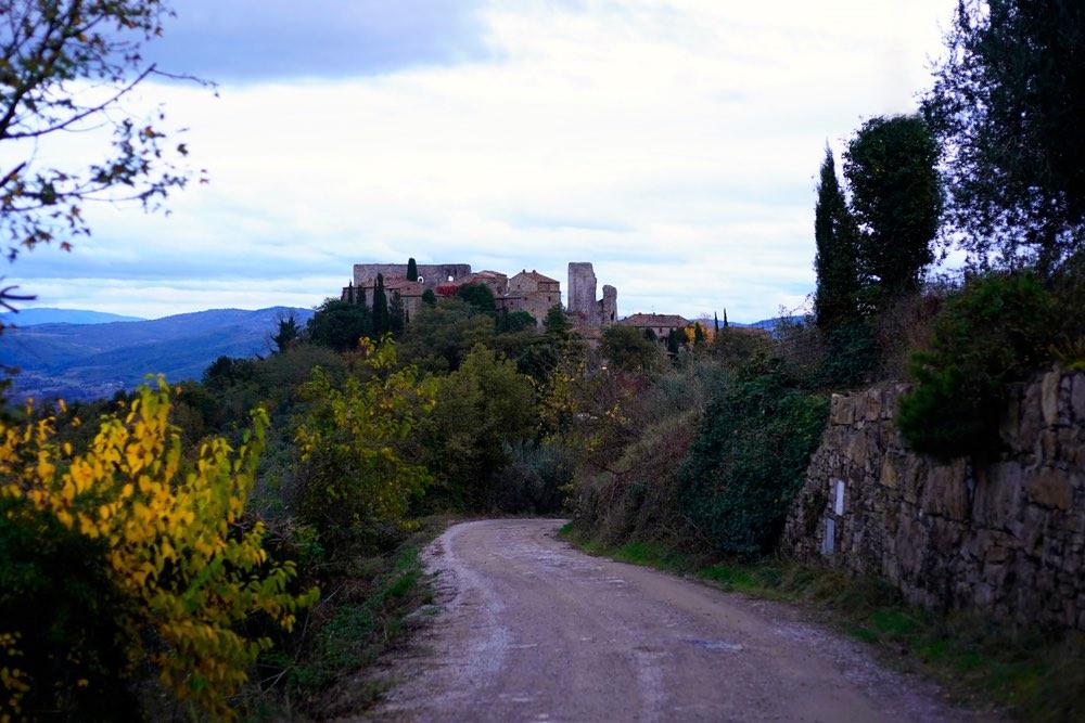 Il Castello di Cennina in Valdambra, Toscana