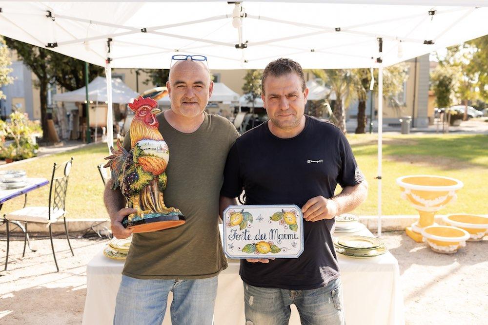 Ceramiche artistiche fiorentine La Chimera a EvergreenForte 2021