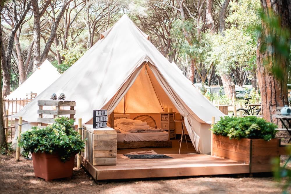 Il camping PIgna Felice è un bellissimo campeggio pet friendly in Toscana
