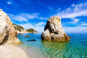 Spiaggia Sansone all'Isola d'Elba, una delle più belle spiagge della Toscana