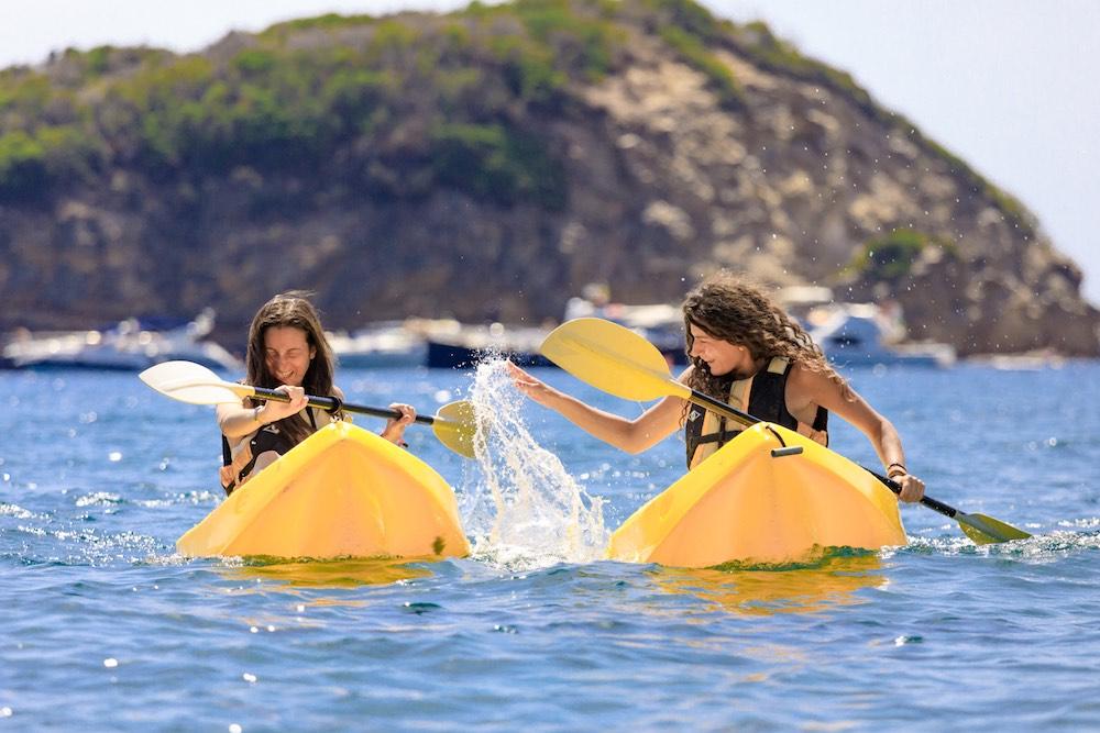 Attività sportiva villaggio vacanze sul mare all'Isola d'Elba TH Ortano