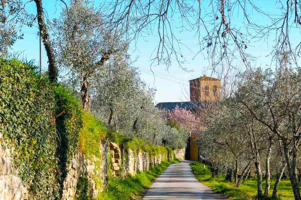 San Pietro a Gropina, antica pieve del Valdarno