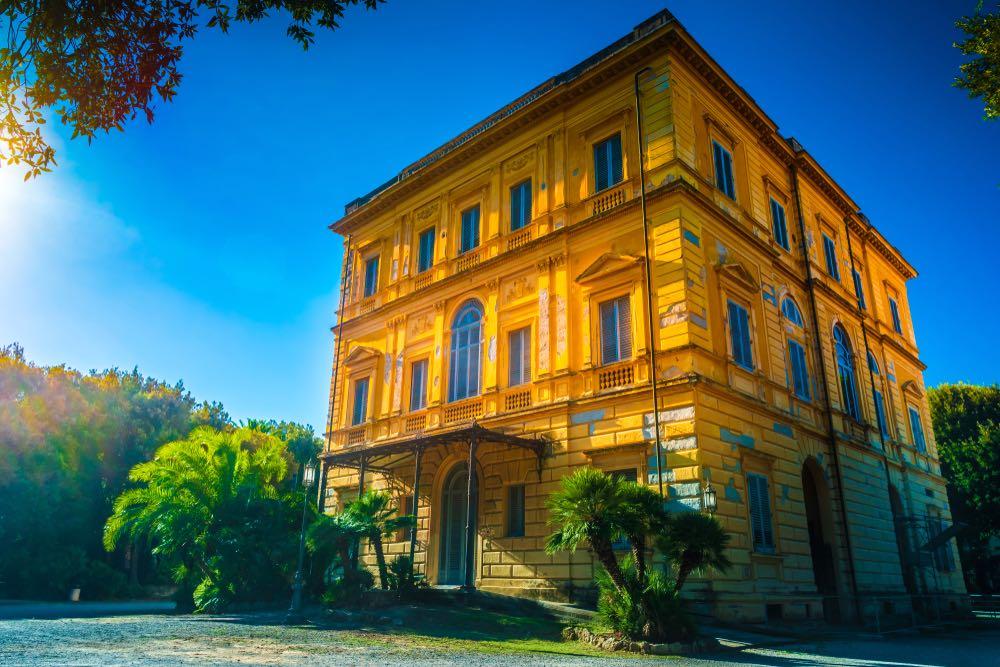 Villa Mimbelli a Livorno, sede del Museo Giovanni Fattori